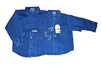 Рубашка детская джинсовая для мальчика. №2, фото 1