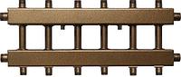 Коллектор распределительный с универсальным подключением СК 372.125 на 6 контуров