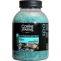 """Соль морская для принятия ванны """"Corine de Farme Морские водоросли"""" 1,3 кг"""