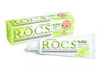 """Зубная паста для детей """"Рокс Baby. Нежный уход. Душистая Ромашка"""" 45 г"""