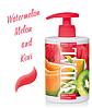 Мыло жидкое с дозатором микс арбуза дыни и киви «Vidal» 500 мл