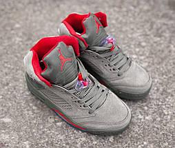 Баскетбольные кроссовки Nike Air Jordan 5, фото 2