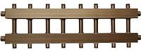 Коллектор распределительный с универсальным подключением СК 472.125 на 8 контуров