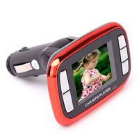 "Автомобильный MP3/MP4 и FM модулятор 1,8"" LCD"