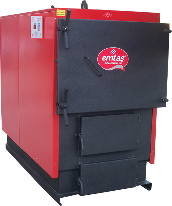 Котёл твердотопливный, ЕКЗG-160 EMTAS трёхходовой (дрова,уголь) 186 кВт (шт,), фото 1