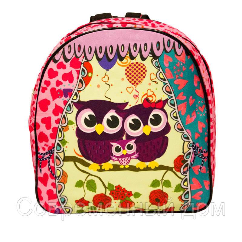 cd1b1b62539e Яркий летний рюкзак Bright owls 4 Цвета . Малиновый - Современный дом в  Виннице