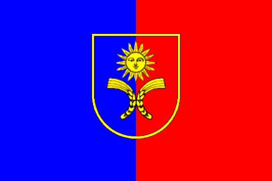 Флаг Хмельницкой области  0,9х1,35 м. для улицы флажная сетка