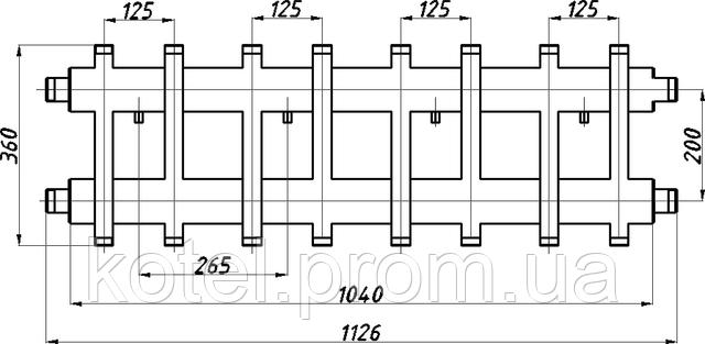 Схема коллектора СК 472.125