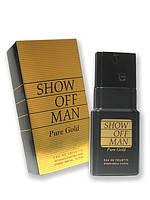 Мужская туалетная вода «Show Off Man Pure Gold» 100 мл
