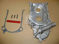⭐⭐⭐⭐⭐ Крышка распределителя шестерен ГАЗ 53.3307 (со шпильками и прокладкой ) (производство  ЗМЗ)  511.1002052