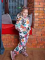 Демисезонный детская одежда, комбинезон для девочки