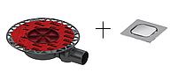 Сливной трап TECEdrainpoint S для установки керамогранита и камня