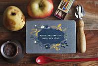 Открытка из дизайнерского картона С Новым годом!!!