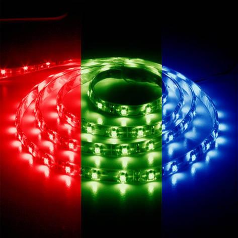 Светодиодная лента 12в - Feron LS606 RGB 5050 30шт/м 7.2Вт, фото 2