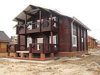 Дома из клеенного бруса