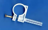 Обойма для труб и кабеля с ударным шурупом 18-20мм