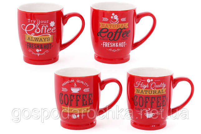 "Чашка 330мл ""Coffee"" кофейная, фото 2"