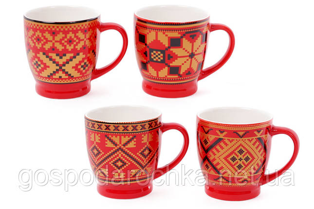 """Чашка 230мл """"Вышиванка"""" кофейная, фото 2"""
