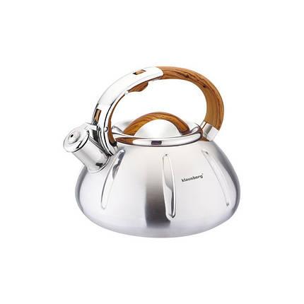 Чайник 3,0л со свистком Klausberg (Польша) KB7119, фото 2