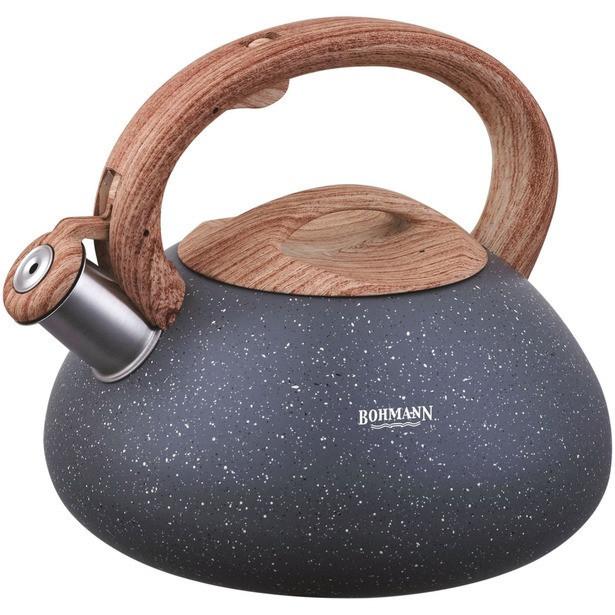Чайник Bohmann BH 9935 со свистком ~3.0 л