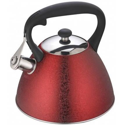 Чайник 3,0 л со свистком Klausberg KB7349, фото 2