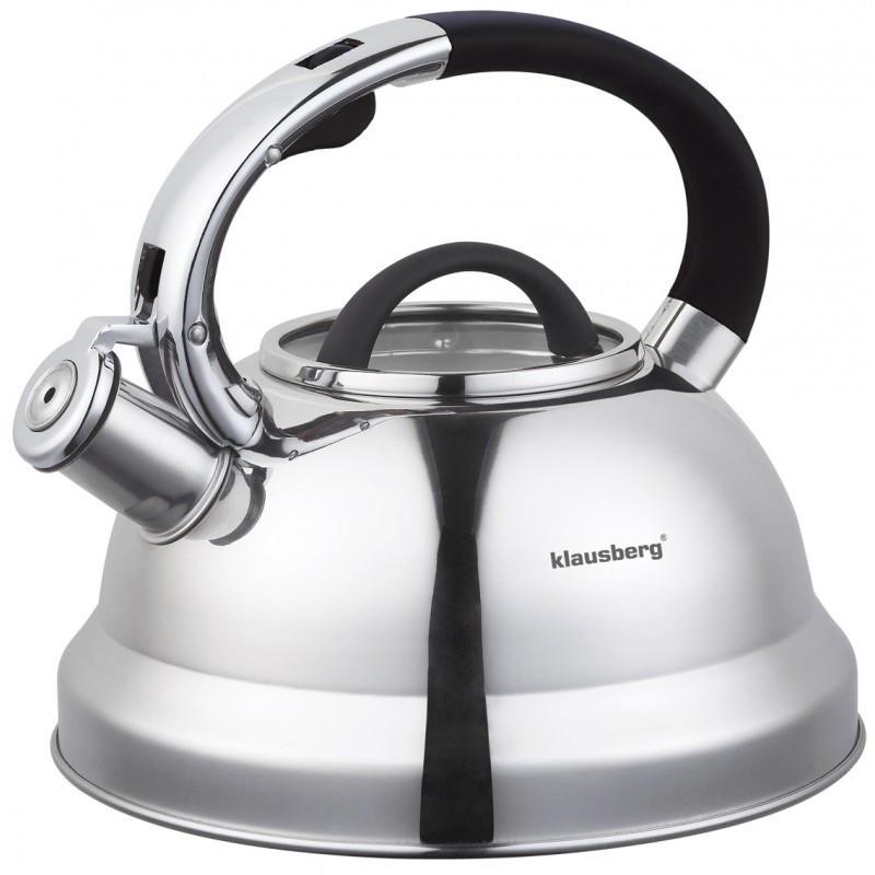Чайник 2,5л со свистком Klausberg KB7071