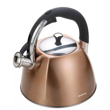 Чайник 3,0л со свистком Klausberg KB7202