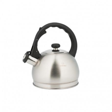 Чайник со свистком KingHoff 1,8л KH3773 (матовый)