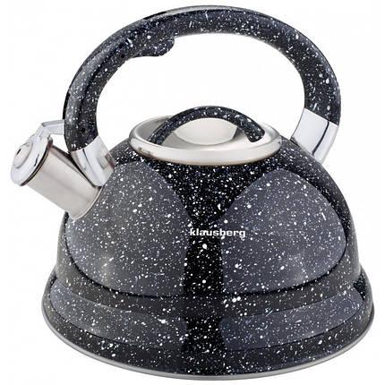 Чайник со свистком 2.7л Klausberg KB7047 В, фото 2