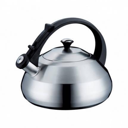 Чайник Peterhof 2,8 л PH15534 со свистком (матовый) Цельнолитой, фото 2