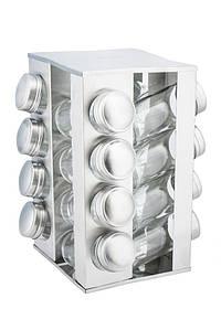 Набор для специй KingHoff 17пр подставка для специй, баночки для специй KH4007