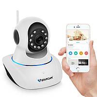 Wifi камера видеонаблюдения поворотная Vstarcam C25 wip, 1 Мп, 720P, PTZ, App