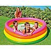Детский надувной бассейн Intex 56441 радуга 168х48, фото 3