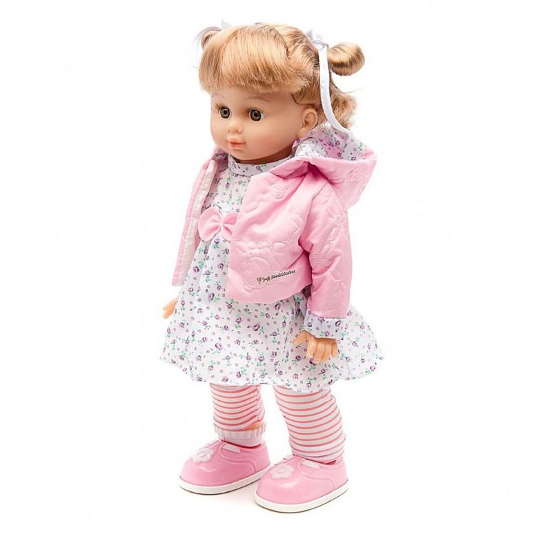 Детская интерактивная кукла Настенька MY081 управляется с мобильного телефона или голосом