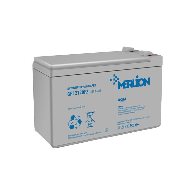 Аккумуляторная батарея 12V 12Ah MERLION ( 150 x 98 x 95 (100) ) 3,0кг Q4