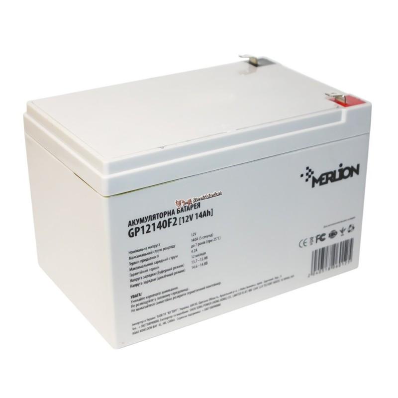 Аккумуляторная батарея 12V 14Ah MERLION ( 150 x 98 x 95 (100) ) Q4