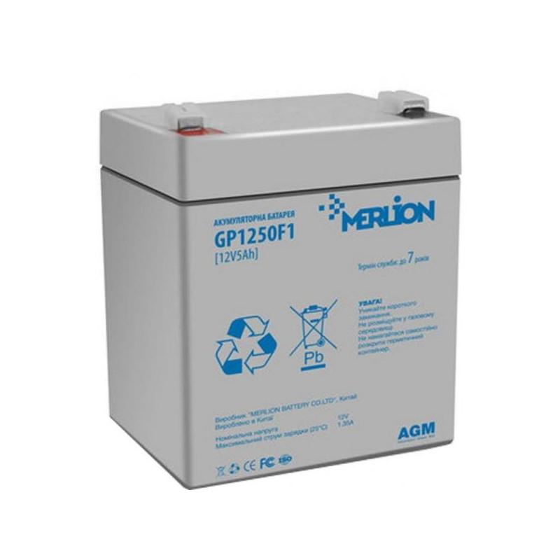 Аккумуляторная батарея 12V 4.5Ah MERLION ( 90 х 70 х 100 (105) ) Q10