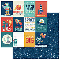 Папір двосторонній - Reach For The Stars - ToThe Moon And Back - Photoplay Paper - 30x30
