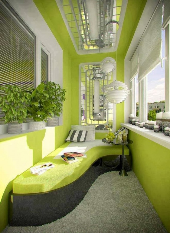 Дизайнерские идеи для оформления балкона