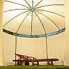 Садовий павільйон діаметром 3,5м / Беж, фото 3