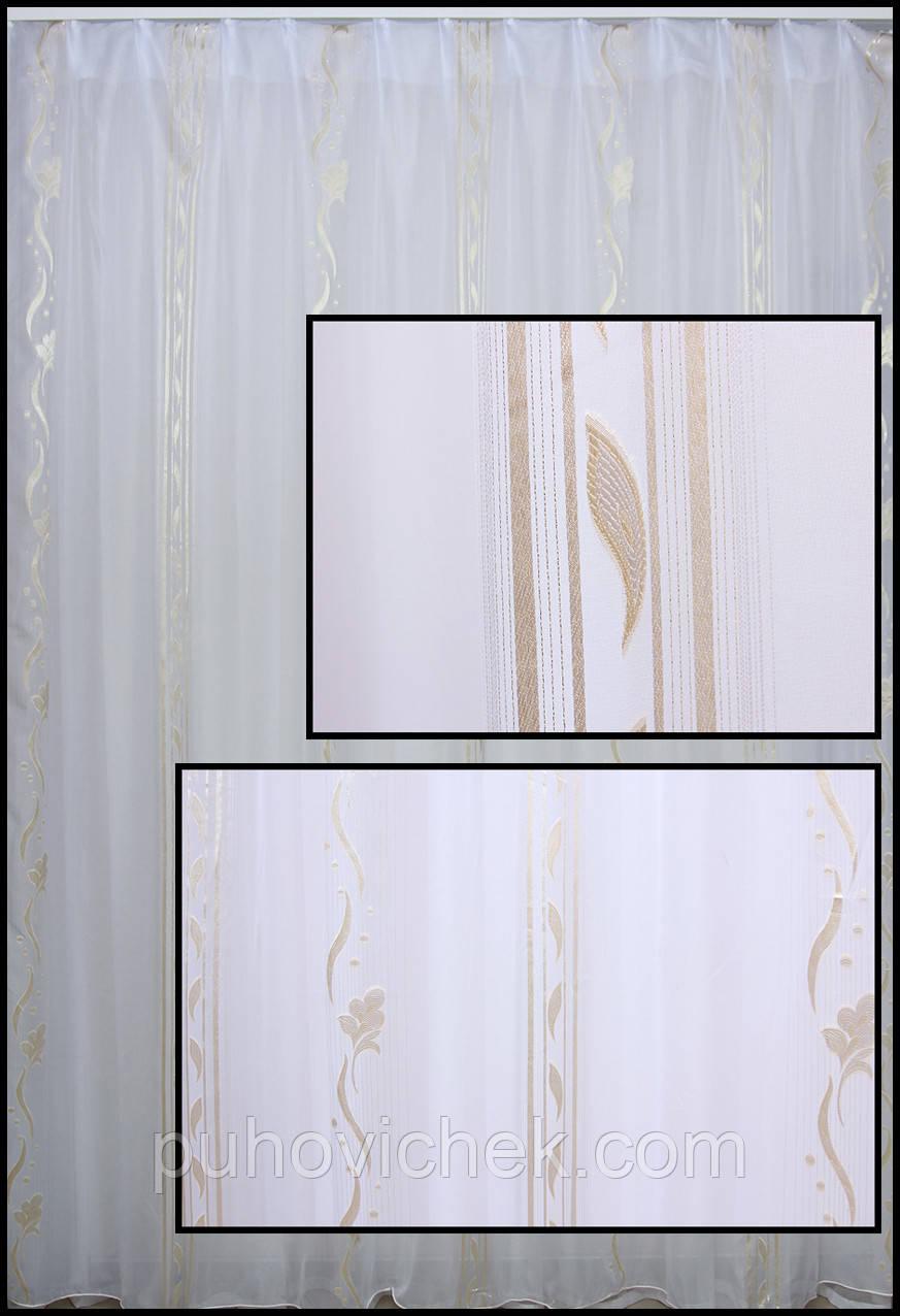 Тюль и гардина для окна