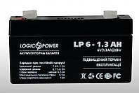 Аккумулятор  кислотный LogicPower 6V 1.3Ah