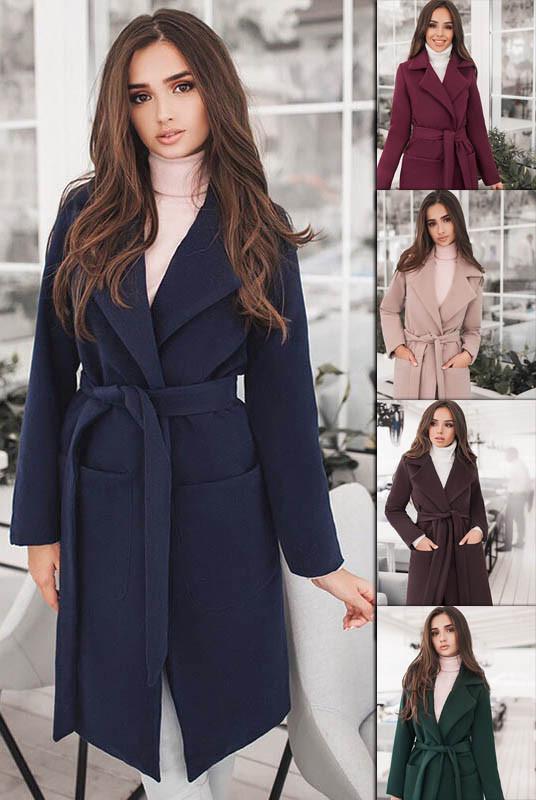 Кашемірове пальто на підкладці Спрін