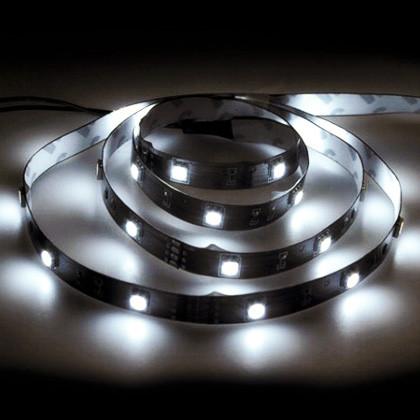 Светодиодная лента 12в - Feron LS606 5050 60шт/м 14.4Вт (белая холодная)