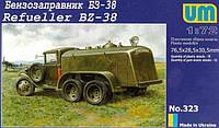 1:72 Сборная модель автомобиля БЗ-38, Unimodels 323;[UA]:1:72 Сборная модель автомобиля БЗ-38, Unimodels 323