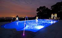Оптоволоконная подсветка бассейнов,водоемов