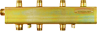 Распределительный одноблочный коллектор СК 292.125 на 3 контура