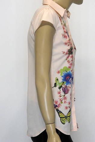 Блузка  с воротничком, фото 2