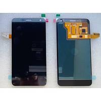 Дисплей экран с тачскрином сенсором для FLY IQ444 черный