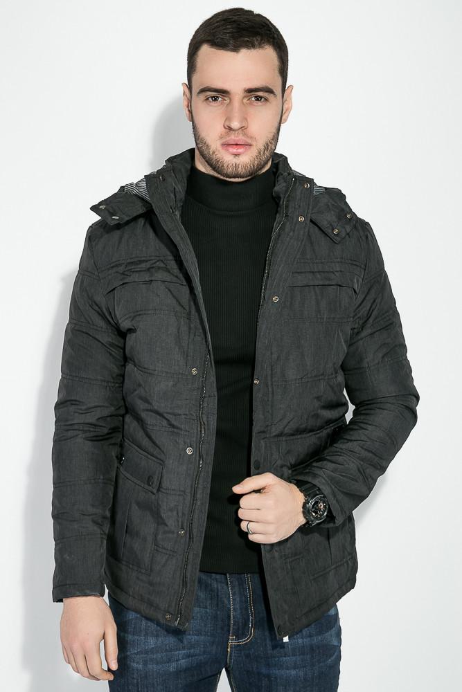 (Грифельный) (Размер S) Куртка мужская, зимняя 19PL158